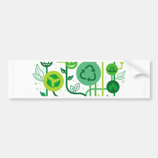 Live Healthy Collection Bumper Sticker