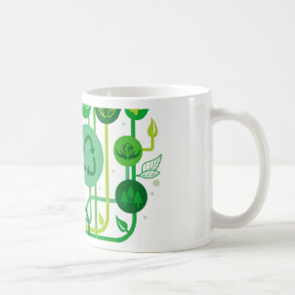Live Healthy Collection Classic White Coffee Mug