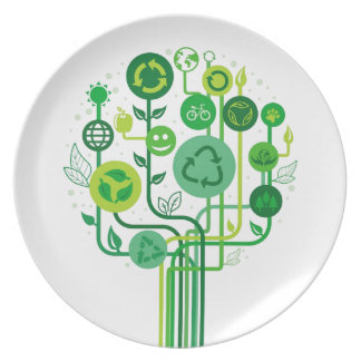Live Healthy Collection Party Plate