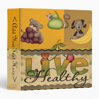 Live Healthy Fruity Binder