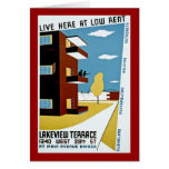 Live Here at Low Rent Card