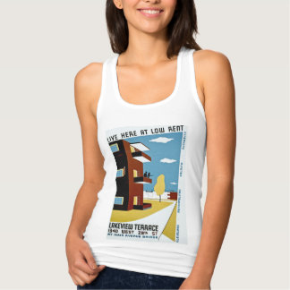 Live Here at Low Rent Tank Top