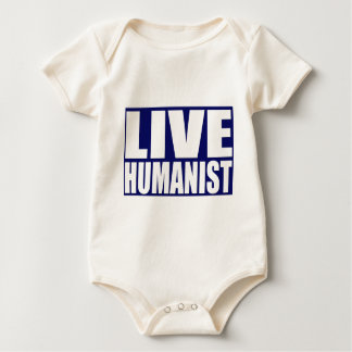 Live Humanist Baby Bodysuit