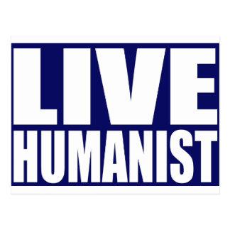 Live Humanist Postcard