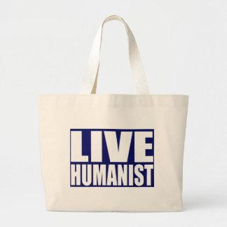 Live Humanist Tote Bag