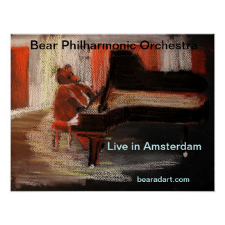 Live in Amsterdam Poster
