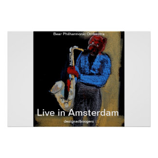 live in amsterdam print