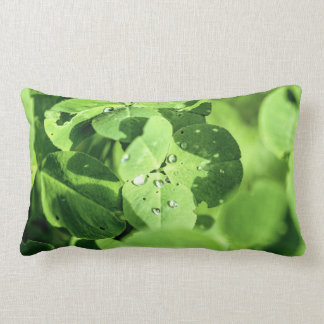Live In Clover Throw Pillow