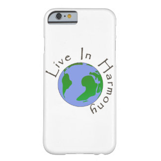 Live in Harmony - Planet Earth Phone Case