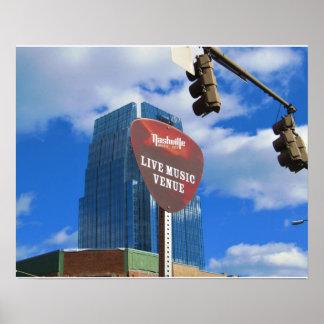 Live In Nashville Poster