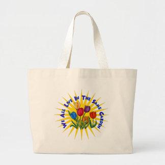 Live In Peace Garden Bag