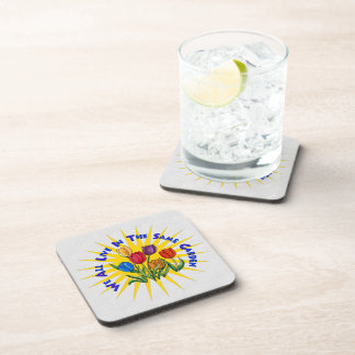 Live In Peace Garden Coaster