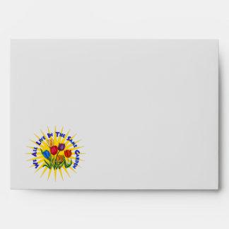 Live In Peace Garden Envelope