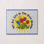 Live In Peace Garden Jigsaw Puzzle