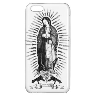 LIVE IN PEACE iPhone 5C COVER