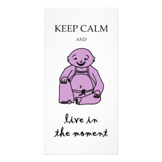 Live in the moment card