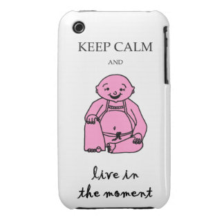 Live in the moment iPhone 3 Case-Mate cases