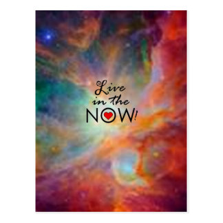 Live in the NOW! Postcard
