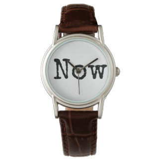 "Live in the ""Now"" - Watch"