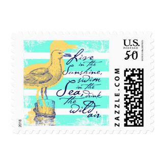 Live in the Sunshine Postage