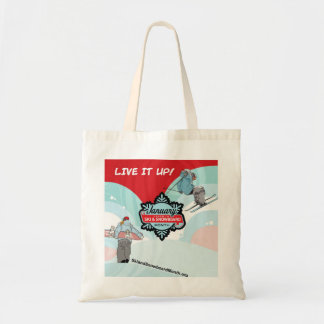 Live it Up this Winter Budget Tote Bag