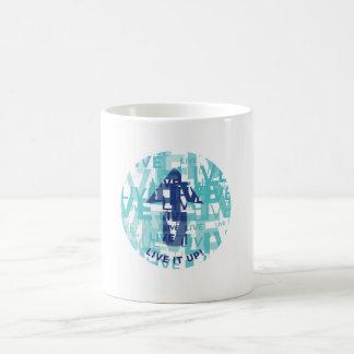 'Live It Up' White 11 oz Classic Mug