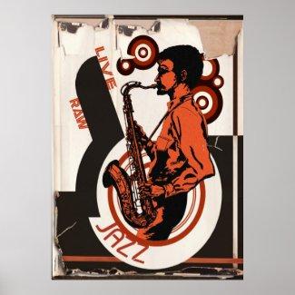 Live Jazz Print
