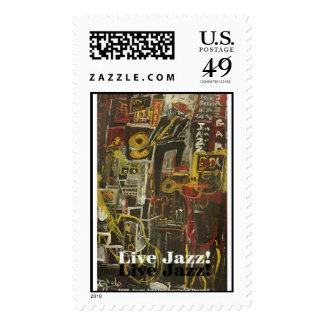 live jazz stamp