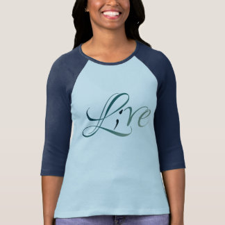Live (L;ve) raglan T-Shirt