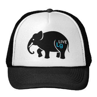Live Large Graphic Cap Trucker Hat
