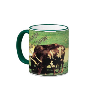 Live Large Ringer Coffee Mug