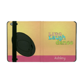 Live Laugh Dance iPad Cover