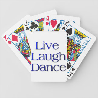 Live, Laugh Dance Products and Gifts Card Deck