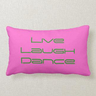 Live Laugh Dance Throw Pillow