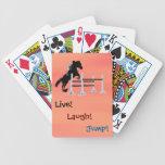 Live! Laugh! Jump! Equestrian Horse Card Deck