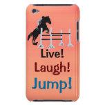 Live! Laugh! Jump! Horse Jumper iPod Case-Mate Cases