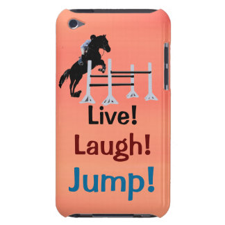 Live! Laugh! Jump! Horse Jumper iPod Touch Cover