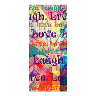 Live Laugh Love Abstract Textured Plaid Pattern Invitations