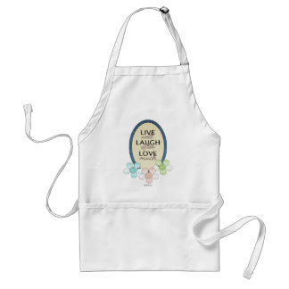 Live Laugh Love Adult Apron