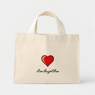 live laugh love tote bags