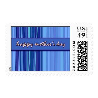 Live Laugh Love Blue Mother's Day Postage Stamp
