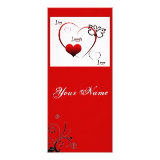 Live,laugh,love Bookmark Rack Card