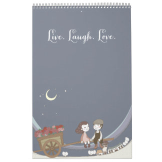 Live Laugh Love Calendar