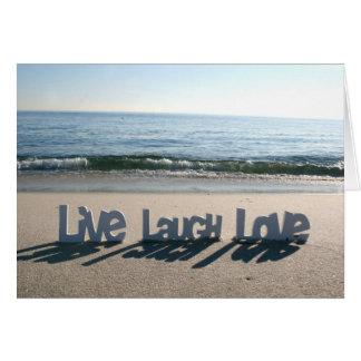 Live Laugh Love Cards