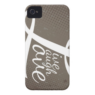 LIVE LAUGH LOVE Case-Mate iPhone 4 CASE