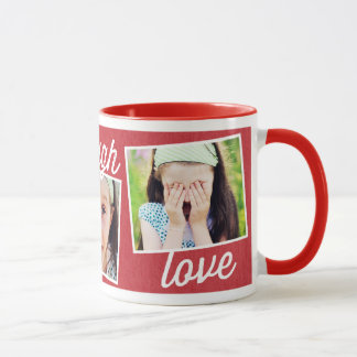 Live Laugh Love Custom Photo Mug