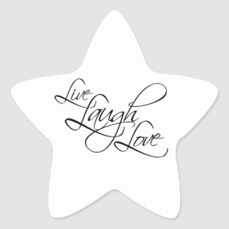 Live  Laugh  Love Customize Product Sticker