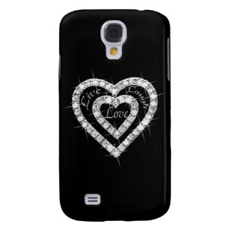 Live Laugh Love Diamond Heart HTC Vivid Phone Case