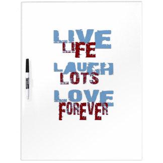LIVE LAUGH LOVE Dry-Erase Board