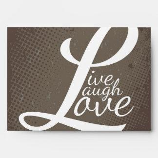 LIVE LAUGH LOVE ENVELOPES